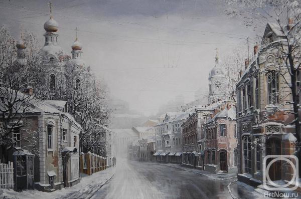 Александр Стародубов. Зима в Москве. Замоскворечье